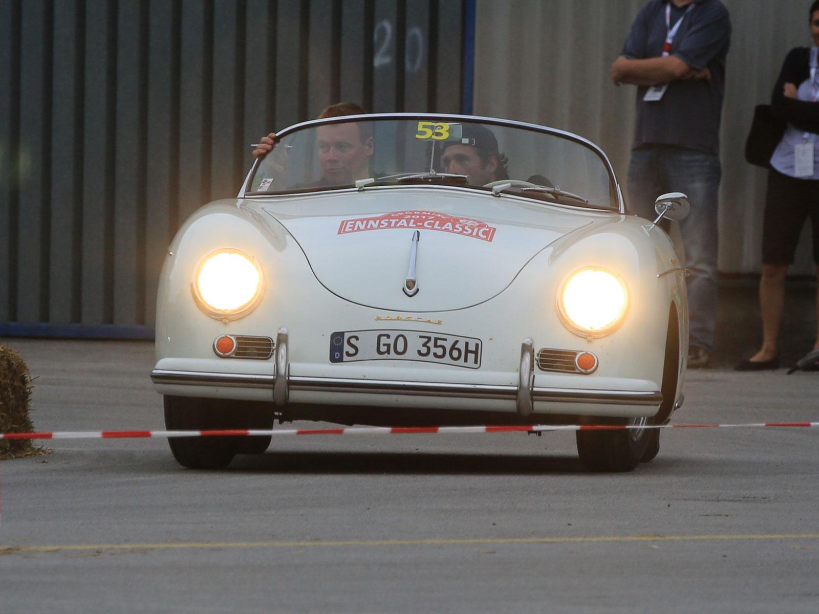 Patrick Dempsey im Porsche 356 (c) Stefan Gruber